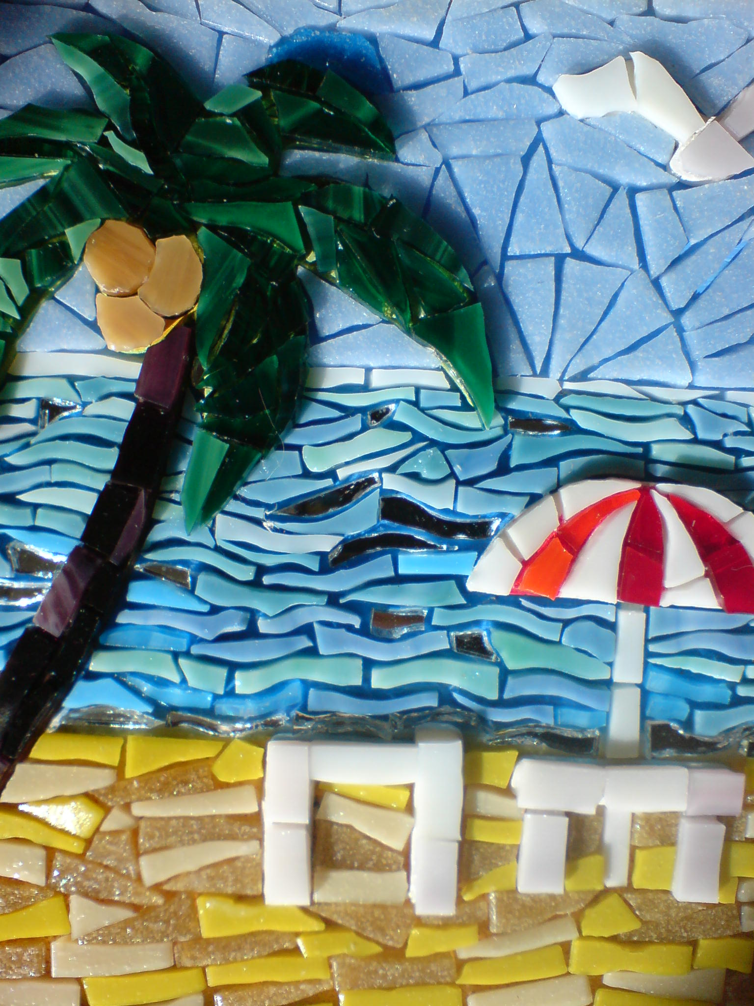 For Doctors without Borders, Gisela Gibbon Mosaic Artist Scarborough