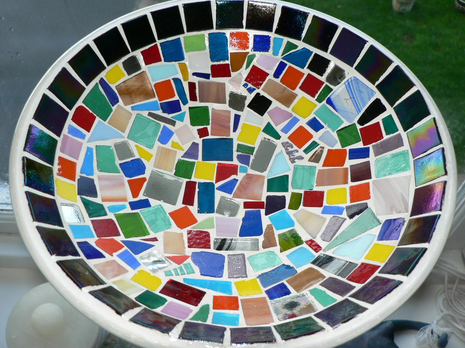 'Fruit Salad' Gisela Gibbon Mosaic Artist Scarborough