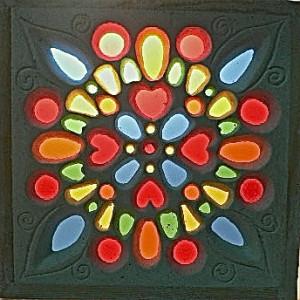 Egyptian Window Art ©Gisela Gibbon