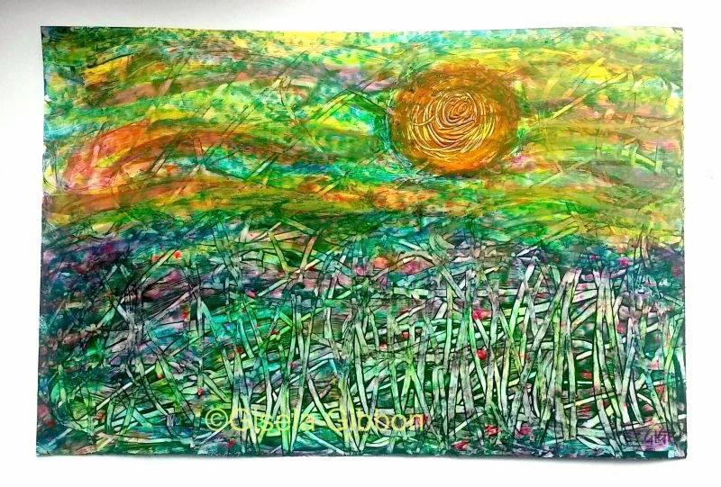 Sunny Field © Gisela Gibbon
