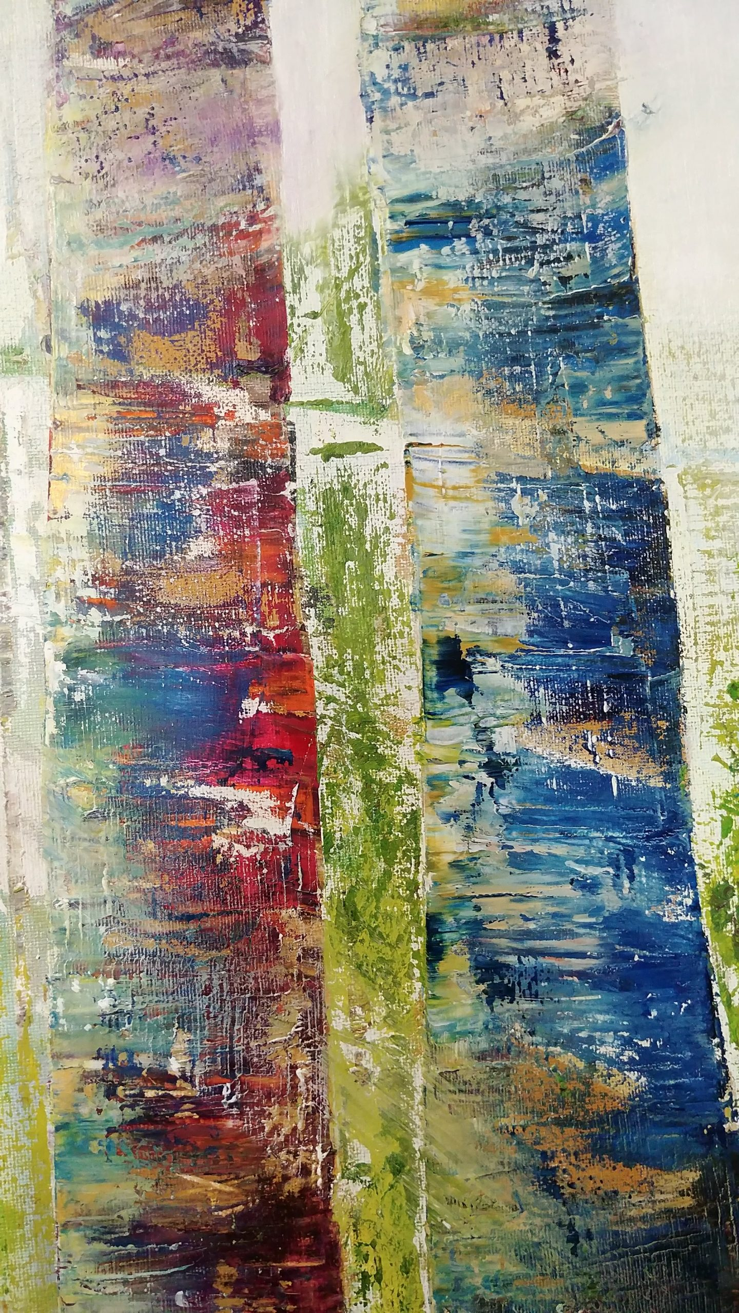 background Forest close up