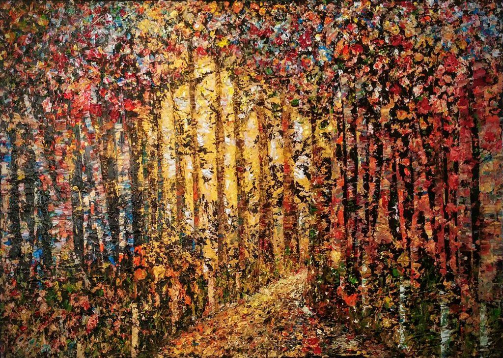 Autumn Forest ©Gisela Gibbon2021